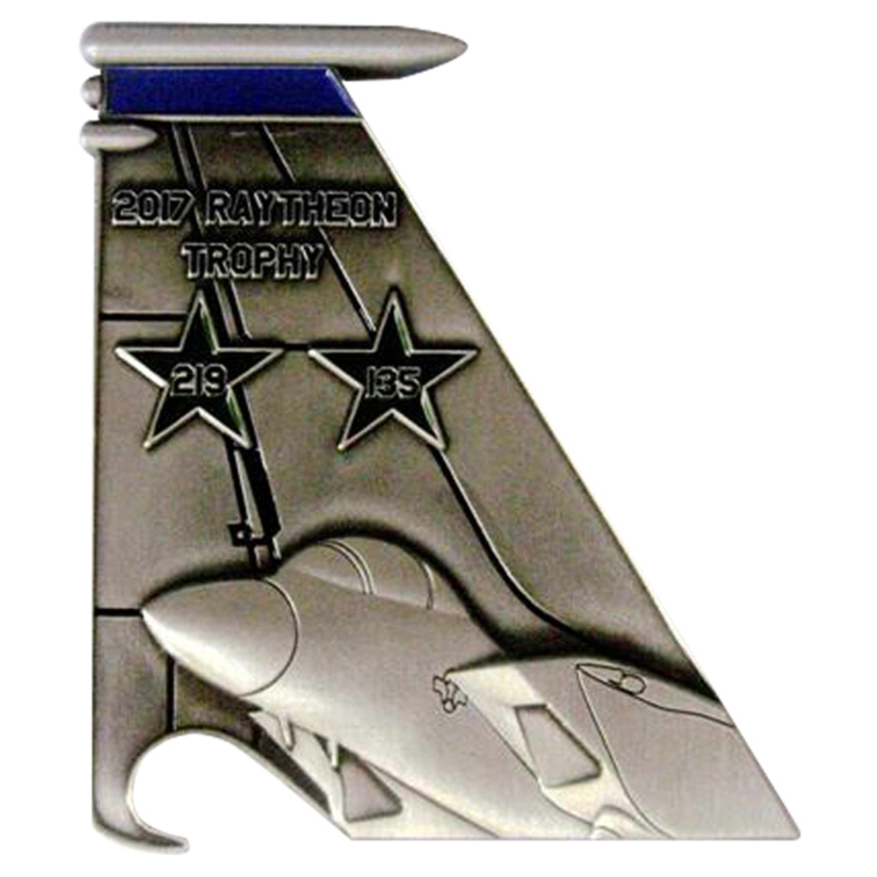 492 FS F-15E Tail Flash Bottle Opener