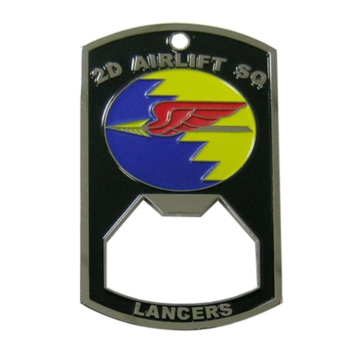 2D Airlift SQ Lancers Bottle Coin Opener