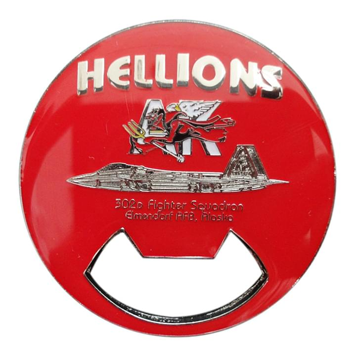 Hellions Bottle Coin Opener