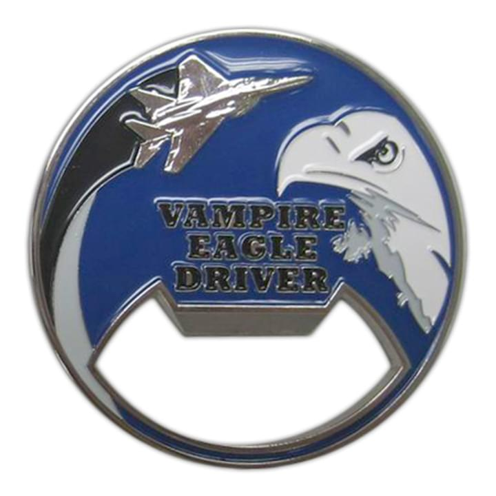 Vampire Eagle Driver Bottle Coin Opener