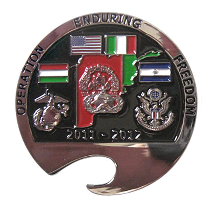 Operation Enduring Freedom Bottle Coin Opener