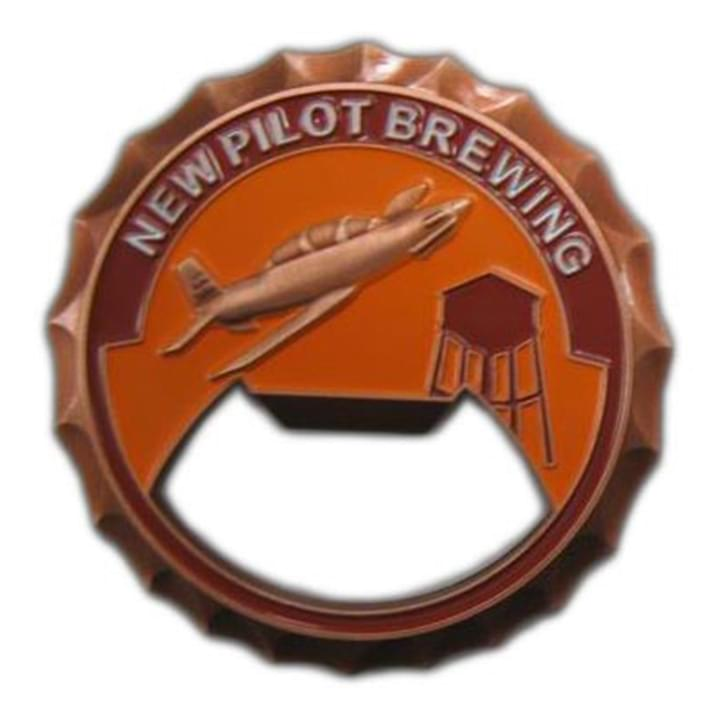 New Pilot Brewing Bottle Coin Opener
