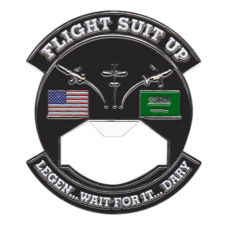 FLight Suit Up Bottle Coin Opener