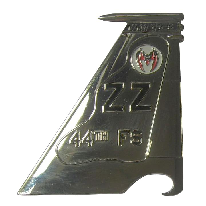 44th FS Bottle Coin Opener