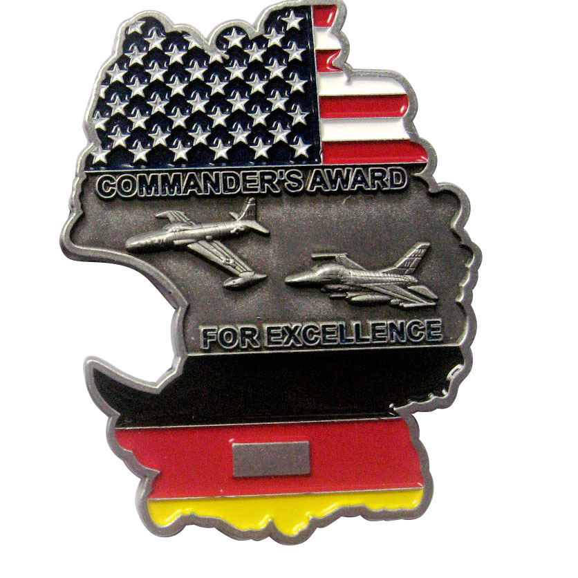 Commanders Award for Excellence Bottle Coin Opener