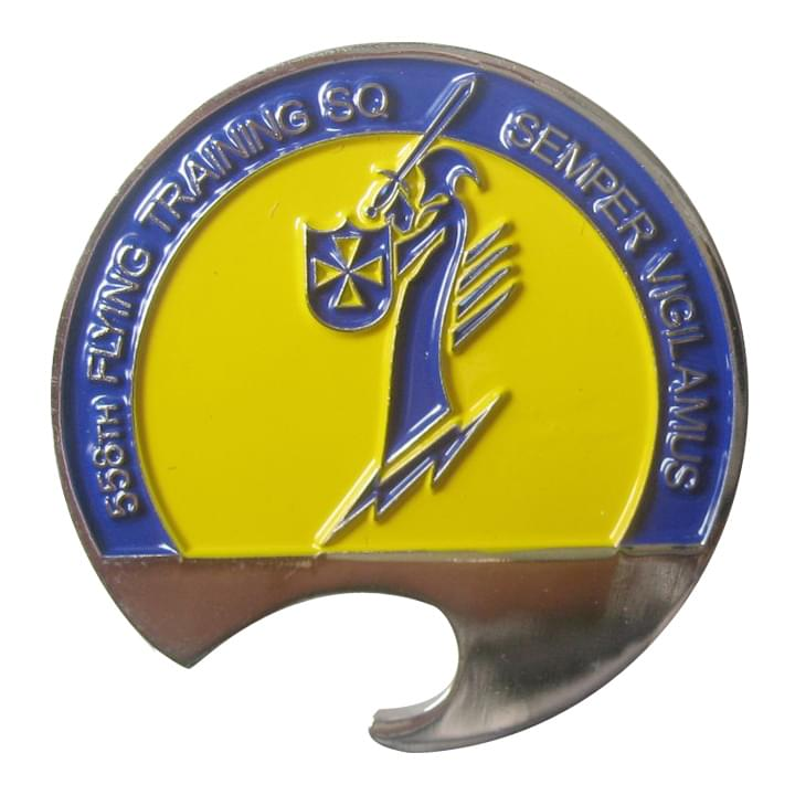 558th FTS Bottle Coin Opener