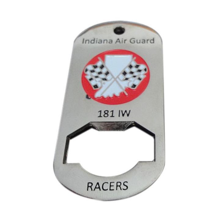 181 IW Indiana Air Guard Bottle Opener