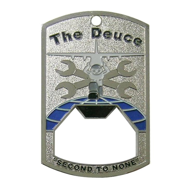 The Deuce Second to None Bottle Coin Opener