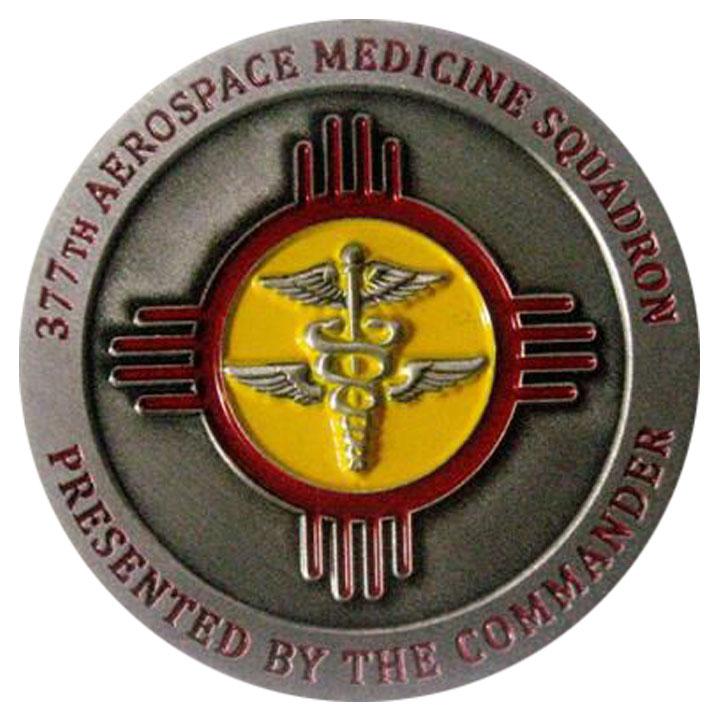 Commander Challenge Coin Examples