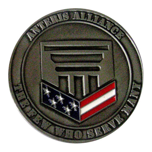 Anteris Alliance 2017 Coin Back SAMPLE