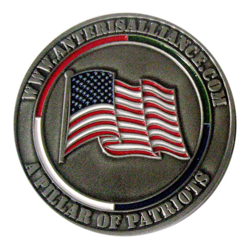 Anteris Alliance 2017 Coin Front SAMPLE