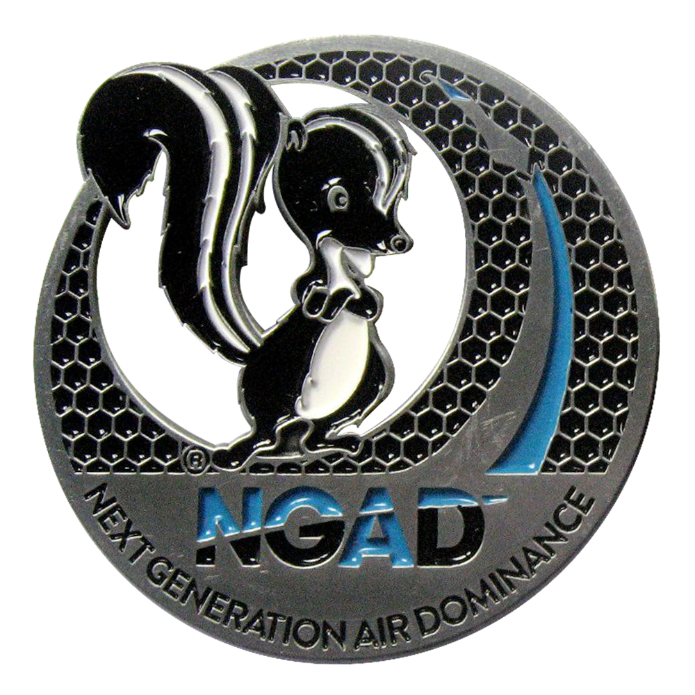 LM NGAD Corporate Coin Back Sample