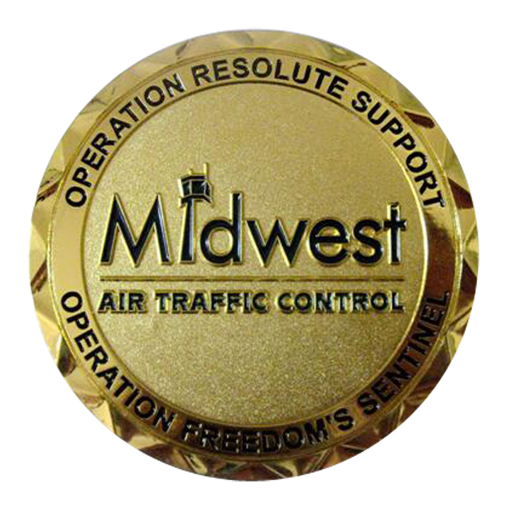 MIDWEST ATC Coin Back SAMPLE