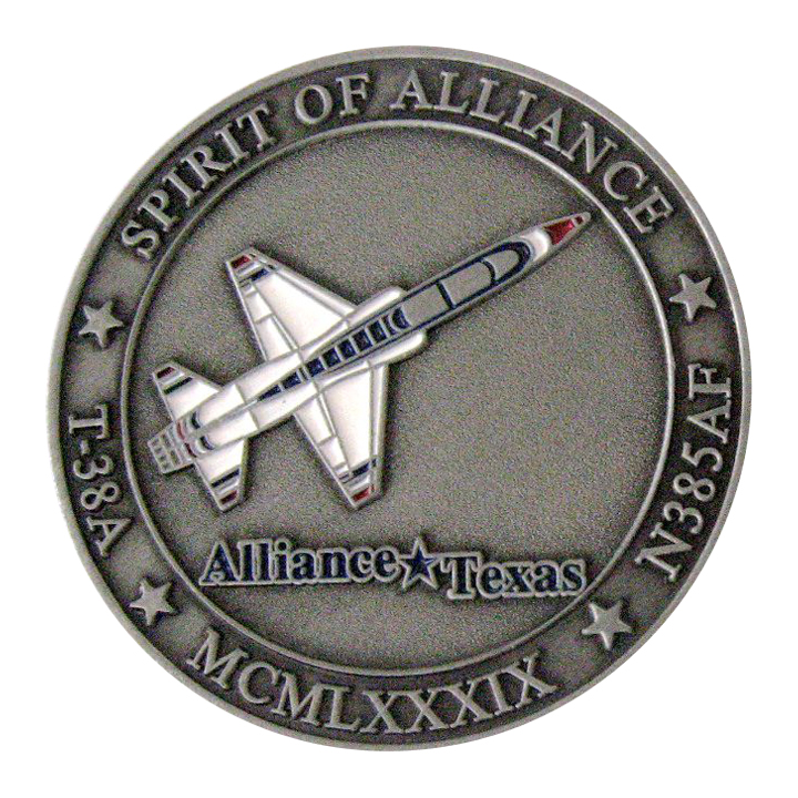 Spirit of Alliance Voodoo Maintenance Coin Front SAMPLE