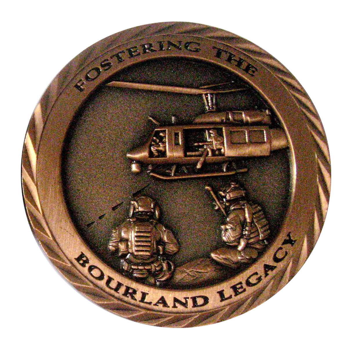 Postering The Bourland Legacy - Copper Challenge Coin