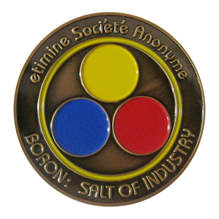 Antique Gold Plated Challenge Coin Design Gallery