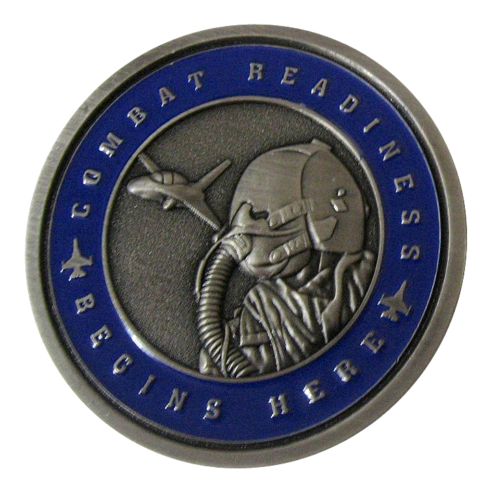 Antique Silver Plated Challenge Coin Design Gallery