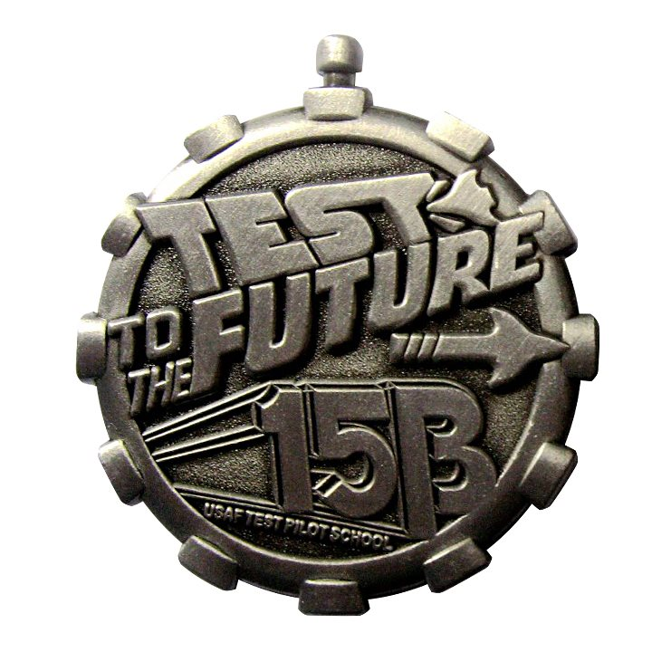 Test to the Future 15B Coin