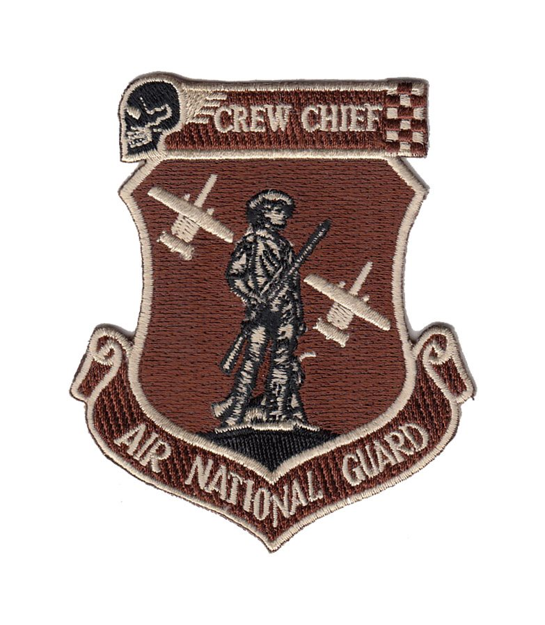 AND Crew Chief Patch