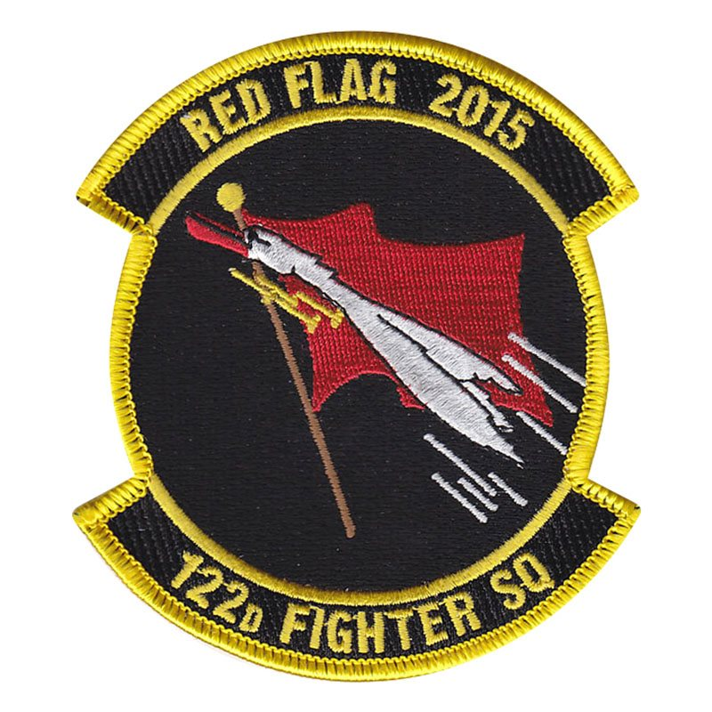122 FS Air National Guard Custom Patch