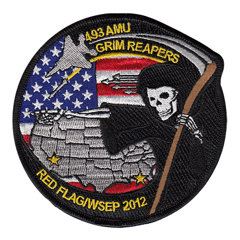 493rd AMU– RED FLAG 2012-4 & WSEP 2012 Patch