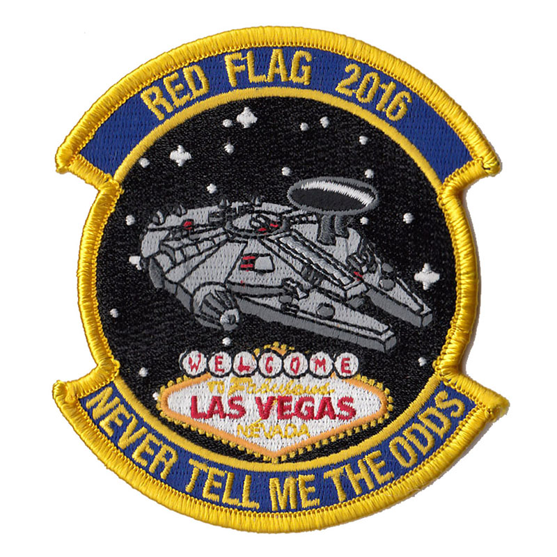 Aviator Gear Red Flag Patches Gallery