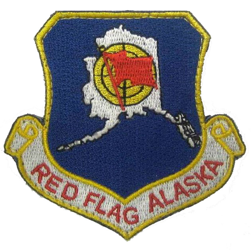 Red Flag Alaska Patch