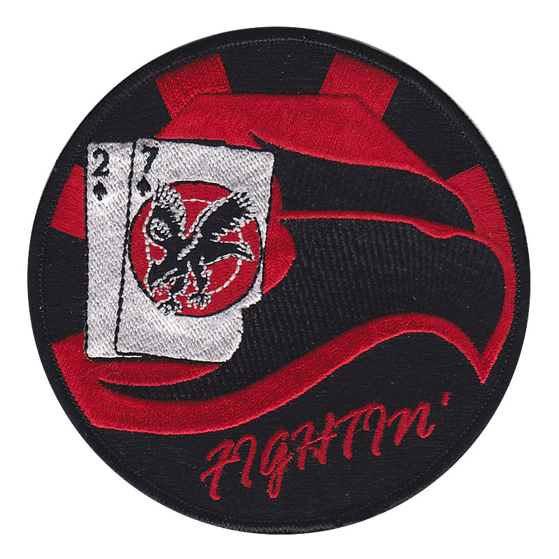 27 Fighter Squadron Custom Patches