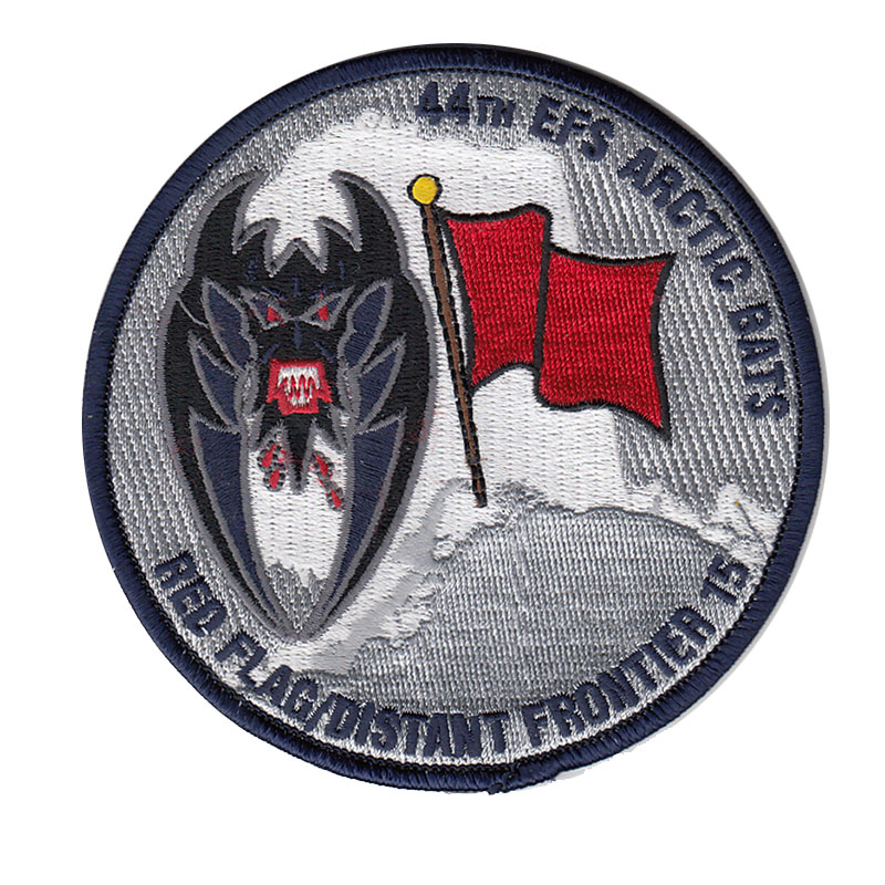4th Expeditionary Fighter Squadron, Red Flag Alaska 2012 Patch
