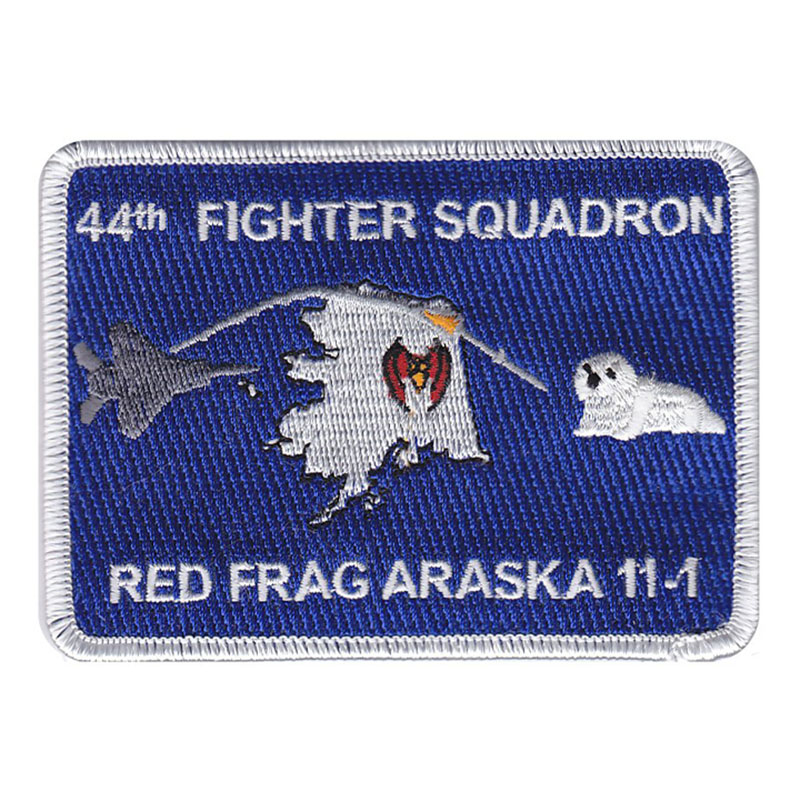 44th Fighter Squadron Red Flag Araska 11-1 Patch