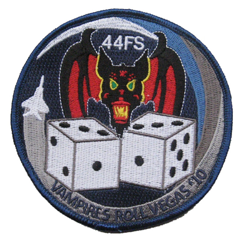 44 FS Red Flag 10-2 Vampires Patch