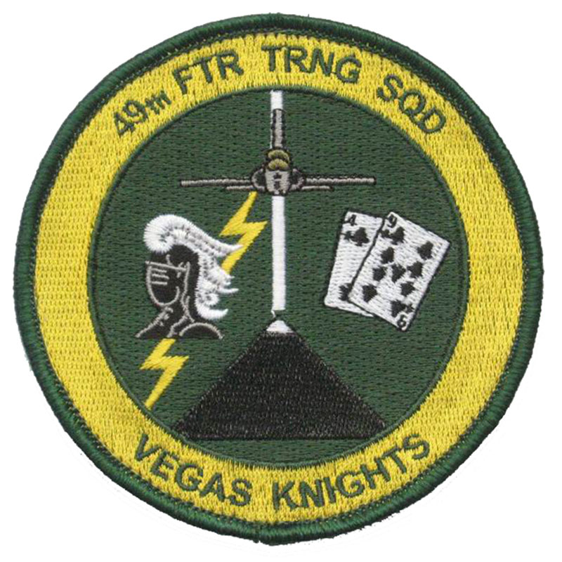 49th FTR TRNG SQD Vegas Knights Patch