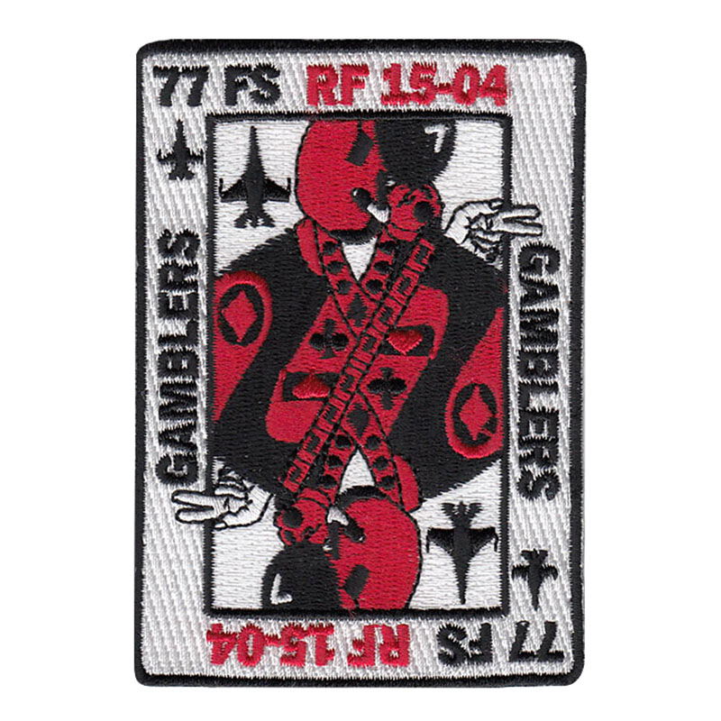 77 FS RF 15-04 Gamblers Patch