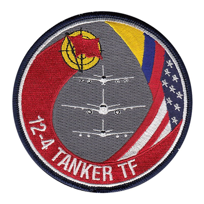 92nd Air Refueling Squadron, Red Flag 12-4 Tanker Task Force Patch