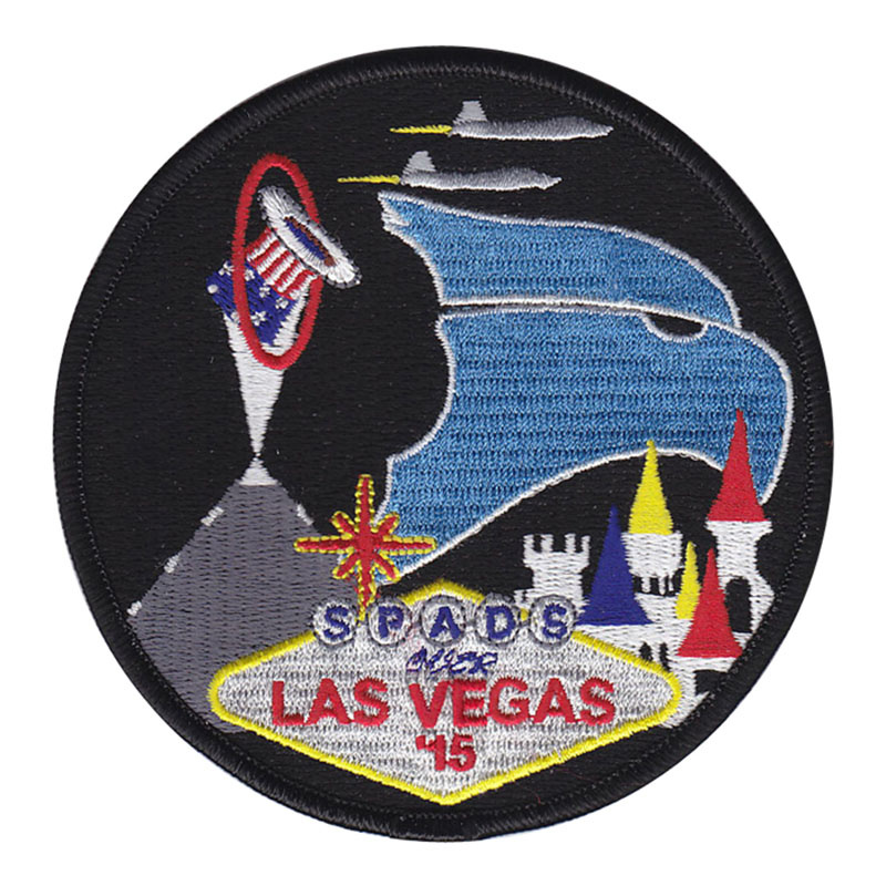 USAF 94th FIGHTER SQUADRON - RED FLAG 2015-01 - ORIGINAL AIR FORCE VEL PATCH