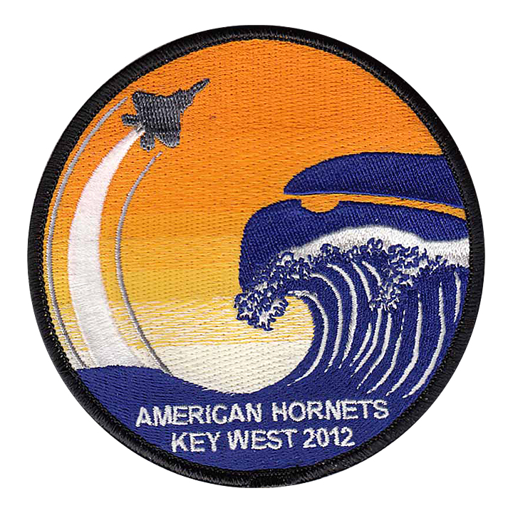 American Hornets - Key West 2012 Patch