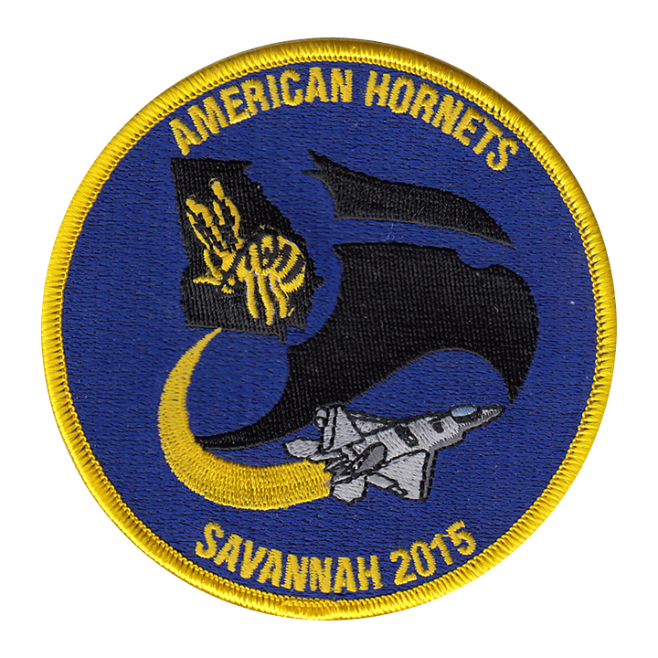 43 FS Savannah 2015 Patch - American Hornets