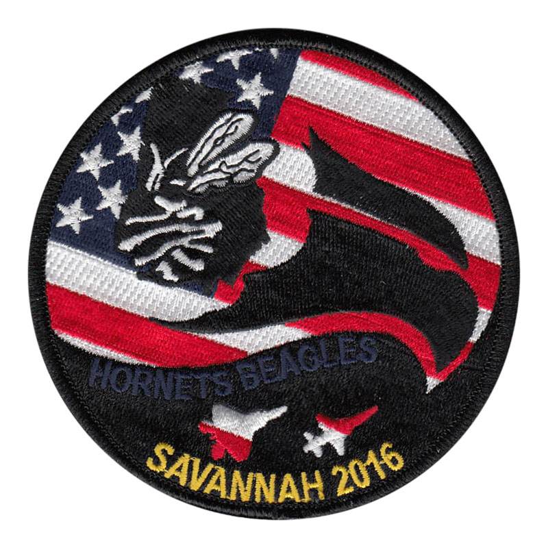 43 FS Savannah 2016 Patch - American Hornets