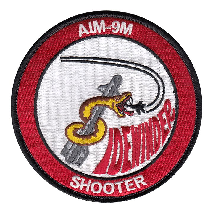 AIM-9M Shooter WSEP Patch