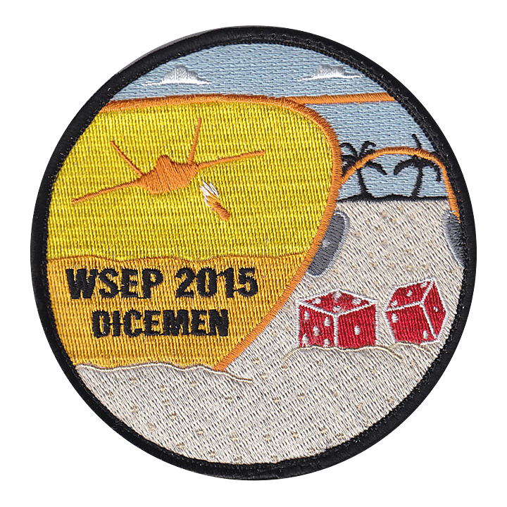 Dicemen WSEP 2015 Patch