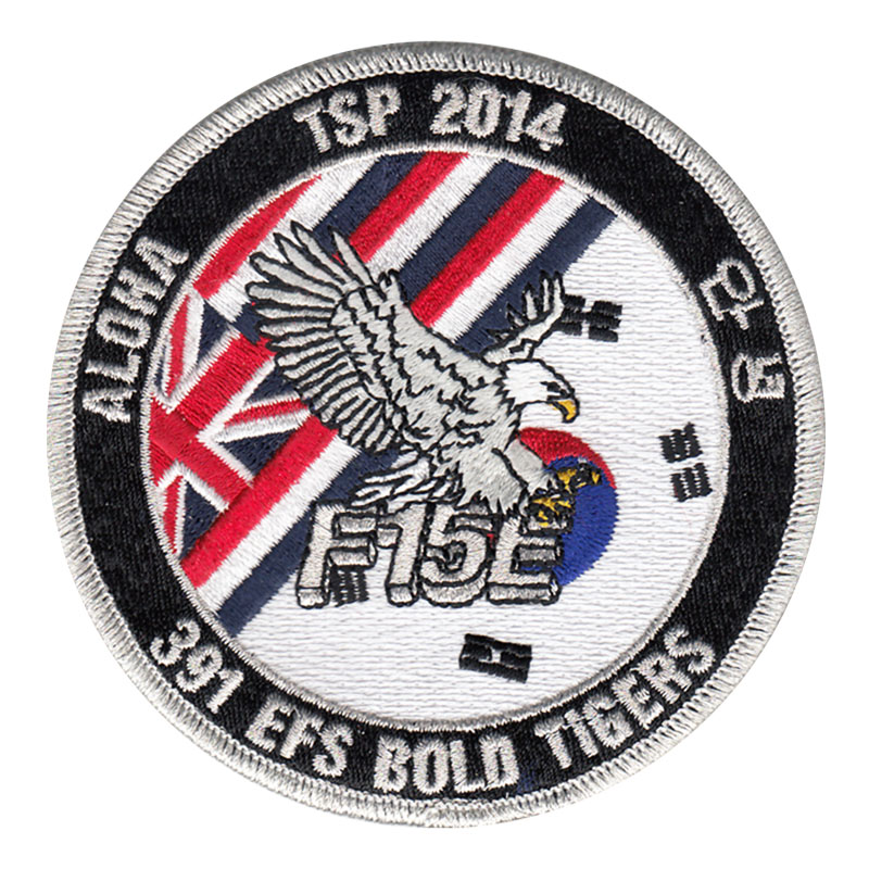 391 EFS Bold Tigers WSEP Patch