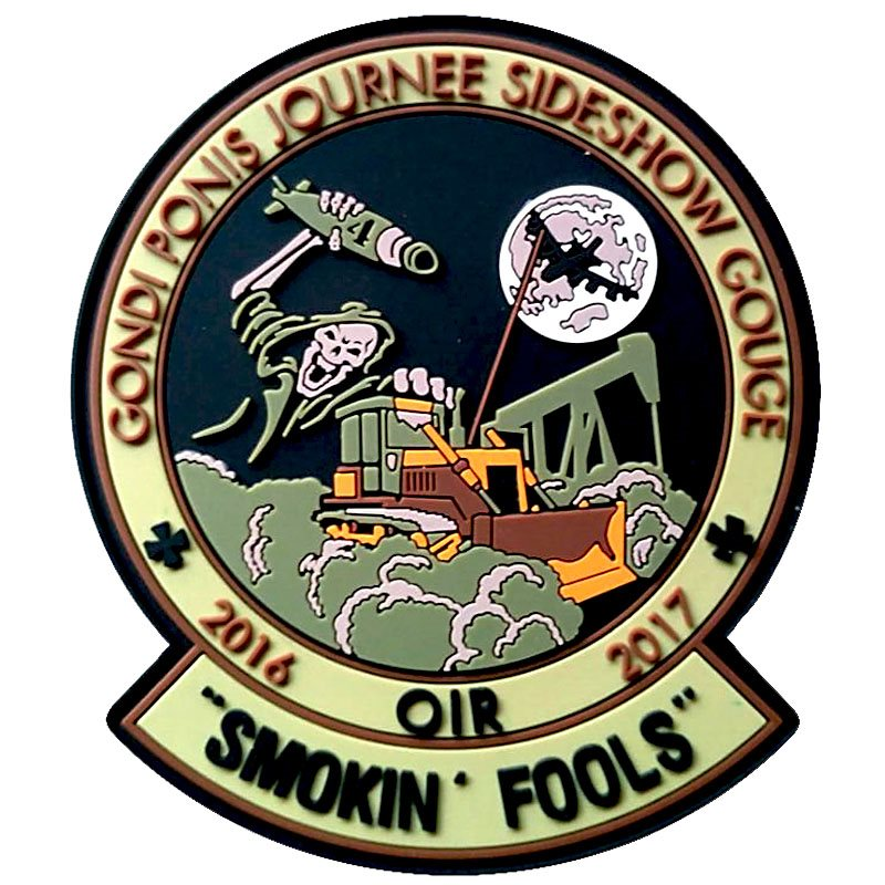 Smoking Fools OIR PVC Patch