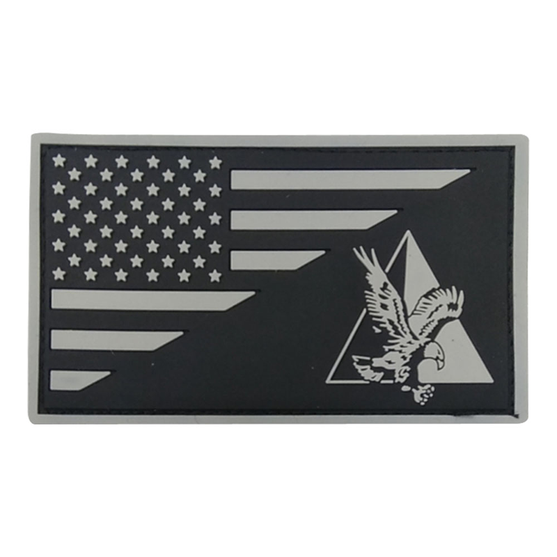 Anchorage Police Department SWAT Team Gray PVC Patch