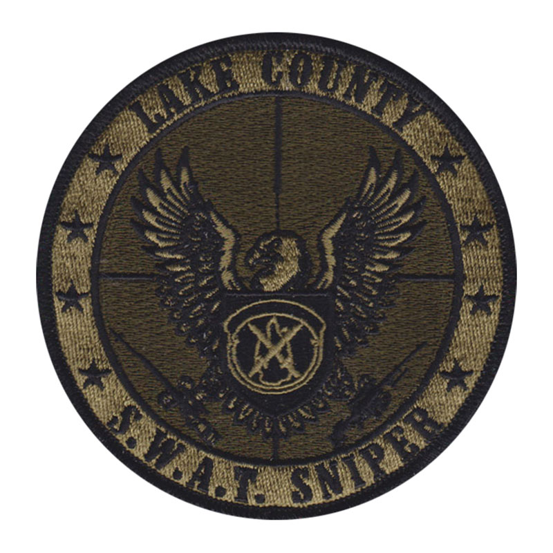 Police Sheriff SWAT Patch Design Gallery