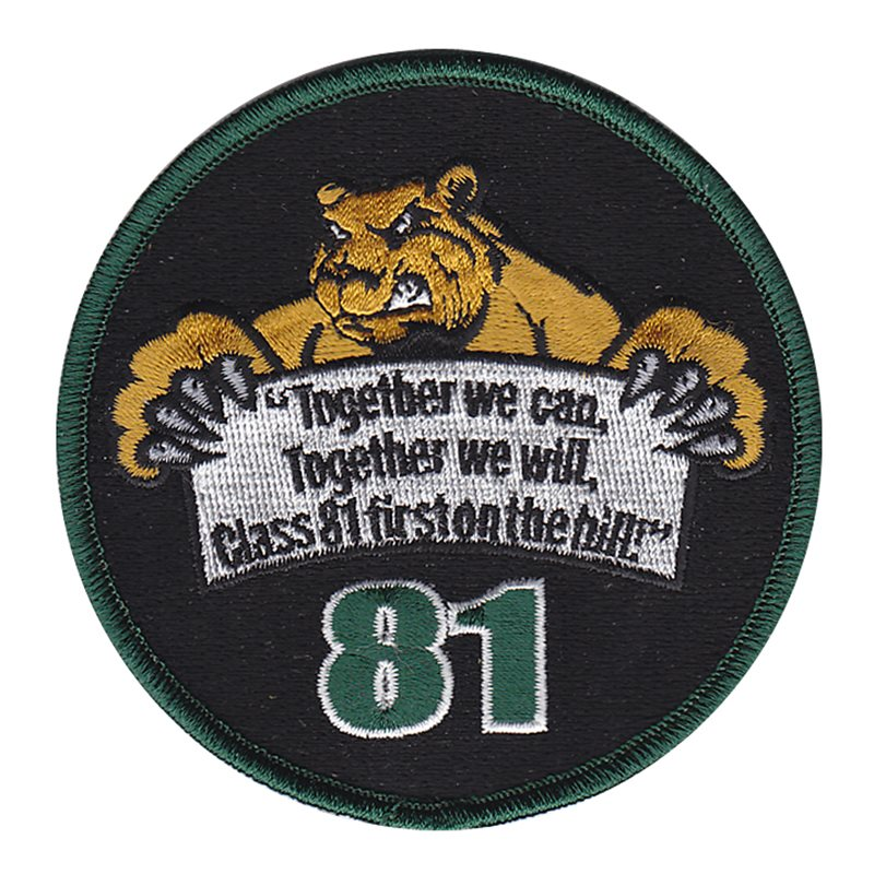 LA County Sheriff Department Class 81 Patch