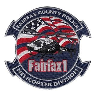 FairFax County Police Helicopter Division Patch