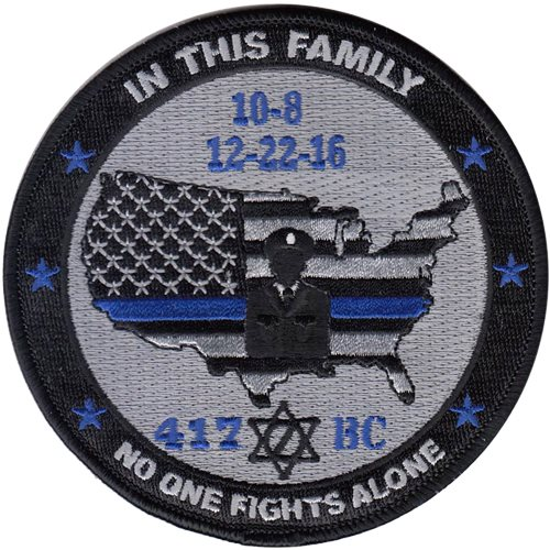 417 BC Patch - No One Fights Alone