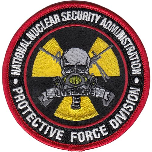 National Nuclear Security Administration - Protective Force Division Patch