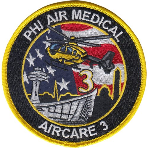 PHI Air Medical Aircare 3 Patch