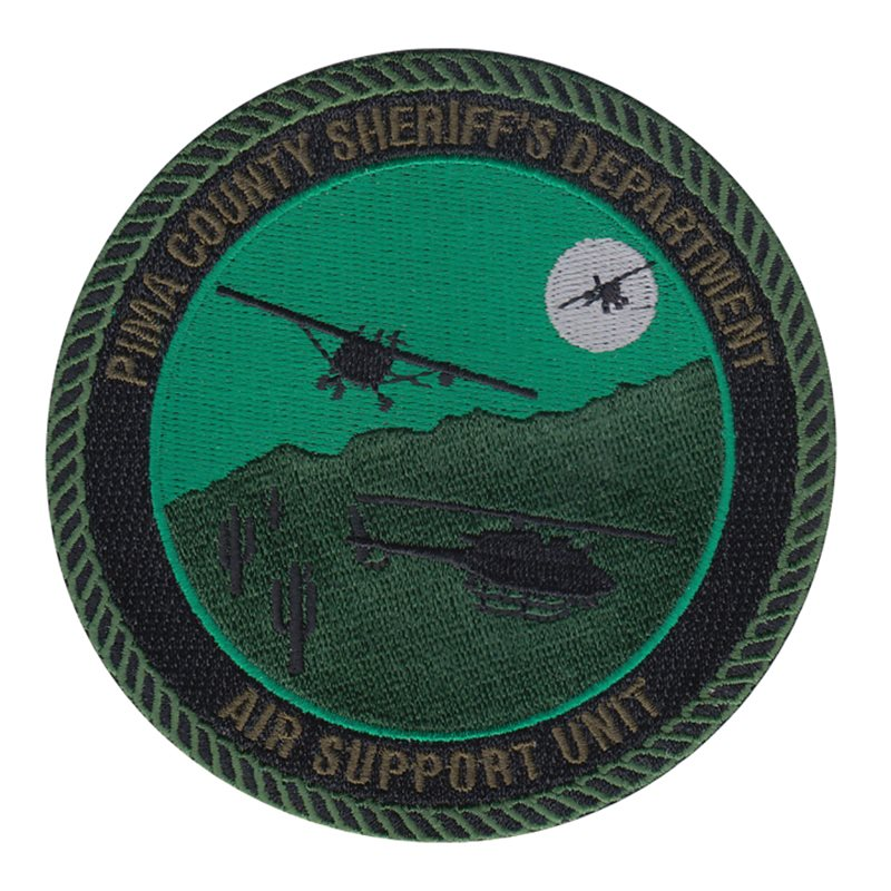 Pima County Sheriff's Department Tactical Air Support Unit Patch